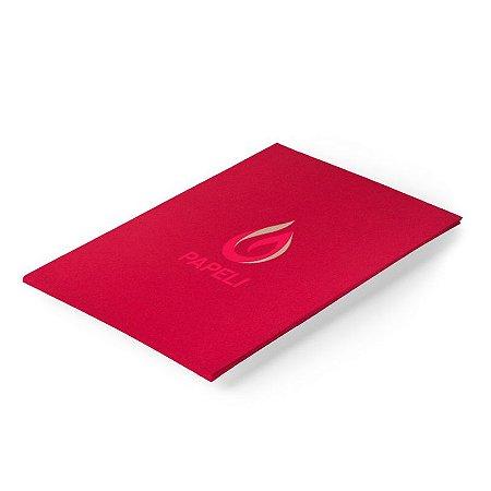 Papel Color Plus - Vermelho Escuro 180g - A4 - 20 Folhas (Pequim)
