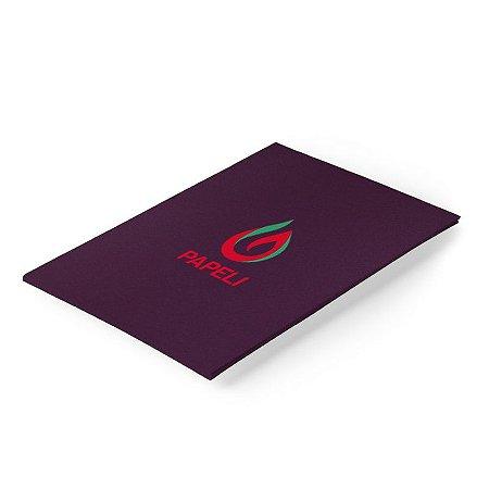 Papel Color Plus - Roxo Açai - 180g - A4 - 20 Folhas (Mendonza)
