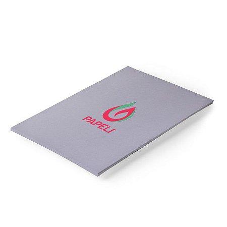 Papel Color Plus - Cinza 180g - A4 - 20 Folhas (Milano)