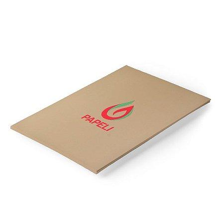 Papel Color Plus - Marrom Claro 180g - A4 - 20 Folhas (Havana)
