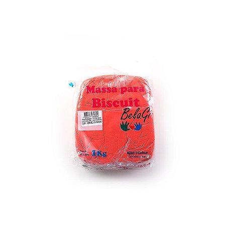 Massa para Biscuit Vermelho Paixão 1kg