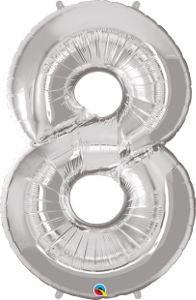 Número Oito - prata