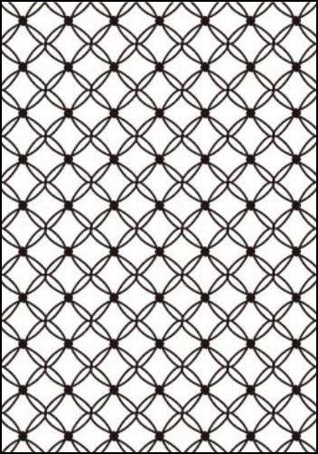 Placa De Textura Emboss A4 - Modelo Matelassê