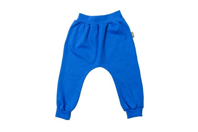 Calça Saruel orgânica azul