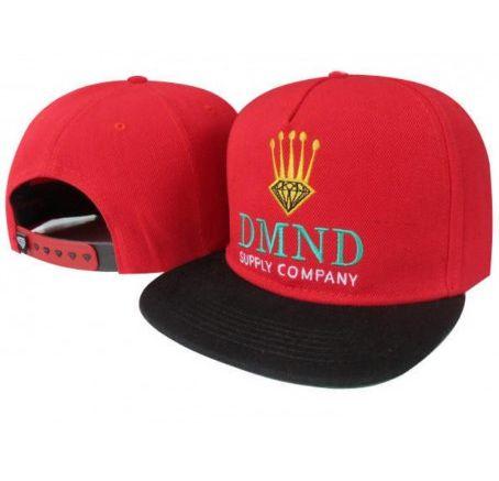 9dedd6912ea03 Boné Diamond Supply Co. - DMND - Vermelho - Loja Afu Estilo de Rua