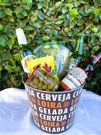 "Balde ""Cerveja Loira"""