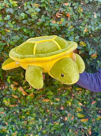 Tartaruga Pelúcia Gigante  57x42x17cm