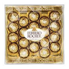 Ferrero Rocher com 24 unidades 300g