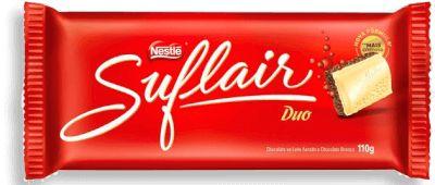 Tablete Chocolate Suflair Duo 110g - Nestlé