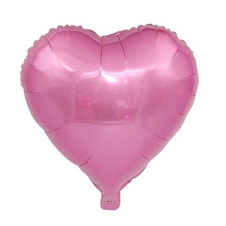 Balão de Balão metalizado rosa G