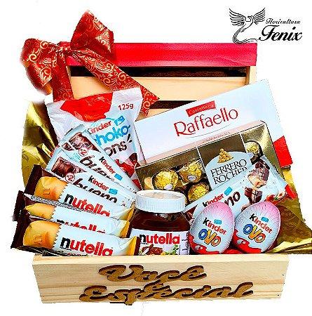 Luxuoso Baú Delicias Ferrero