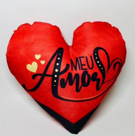 "Almofada ""Meu Amor"""