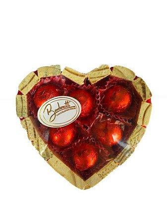 Coração de Chocolate Pequeno 75g