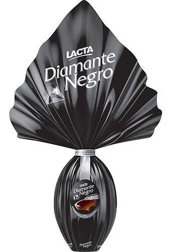 Ovo de pascoa diamante negro 176g