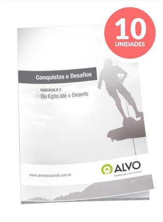 Fascículo 02 - Conquistas e Desafios c/10 unidades