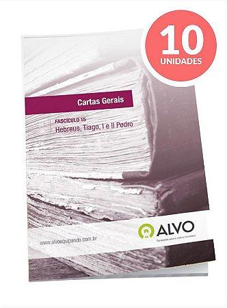 Fascículo 15 - Cartas Gerais c/ 10 unidades