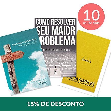 Evangelismo + Discipulado + Estudo Bíblico 10 unid