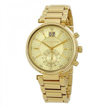 Relógio Michael Kors Dourado Feminino - MK6362