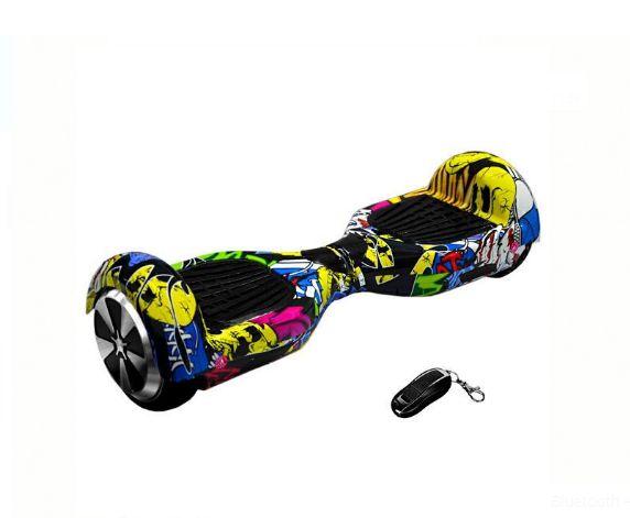 Scooter Elétrico Audisat Smart Wheel TP-025 6.5 com Speaker Bluetooth + Bolsa - Hip-Hop