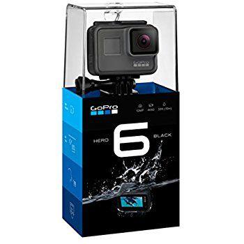 Câmera de Ação GoPro Hero 6 - Black