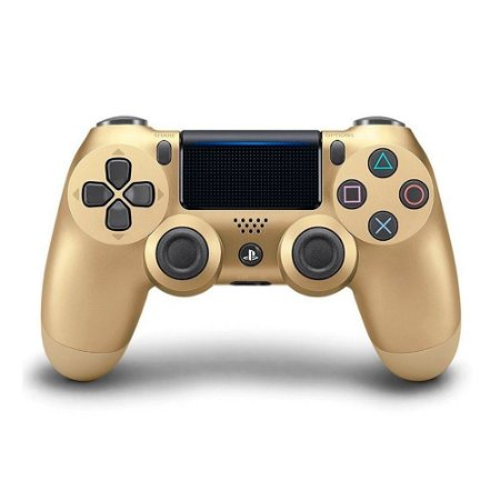 Controle Console Playstation 4 Slim Gold Edition