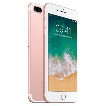 "Apple iPhone 7 Plus 32GB Tela Retina HD 5.5"" 13MP/7MP OS iOS 10 - Rosê"