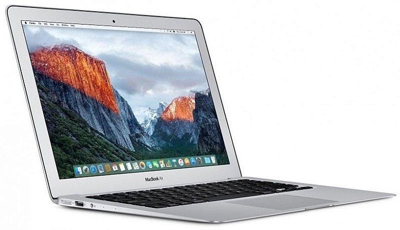 """Apple MacBook Air MQD32LL/A A1466 13.3"""" 1.8GHz/8GB RAM/128GB SSD – Prata"""