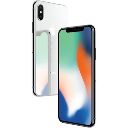 "Apple iPhone X 256GB Tela Super Retina OLED 5.8"" 12MP/7MP iOS - Prata"