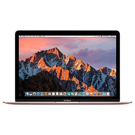 """Apple MacBook MNYM2LL/A A1534 12"""" de 1.2GHz/8GB RAM/256GB SSD - Rosa"""