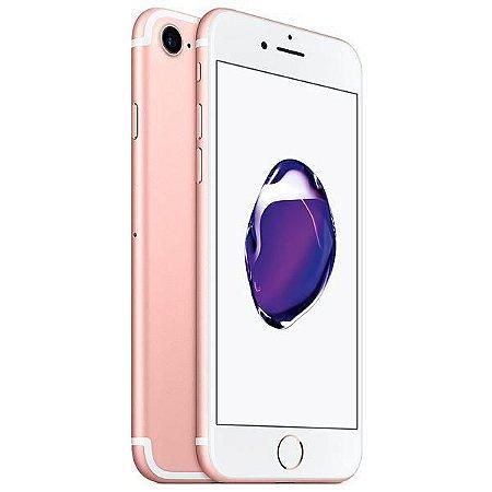 "Apple iPhone 7 A1778 CPO 32GB Tela Retina HD de 4.7"" 12MP/7MP iOS 10 - Rosê"