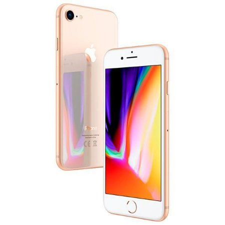 "Apple iPhone 8 A1905 BZ 64GB Tela Retina 4.7"" 12MP/7MP iOS - Dourado"