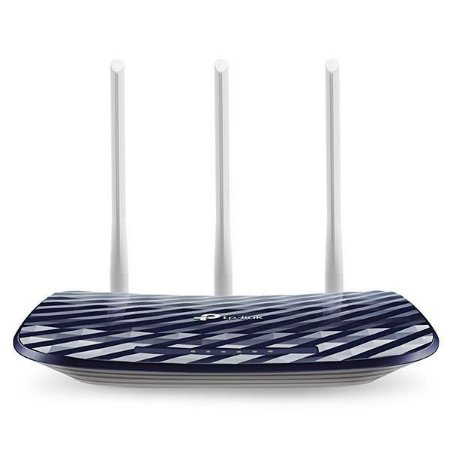 Roteador TP-Link Archer Dual Band AC750 C20 Wireless 433Mbps em 5.GHz e 300Mbps em 2.4GHz.