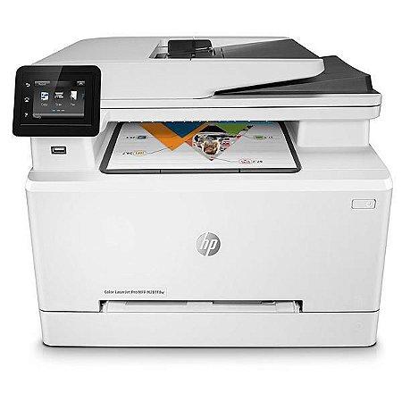 Impressora Hd Multifuncional HP Laserjet Pro Color M281FDW