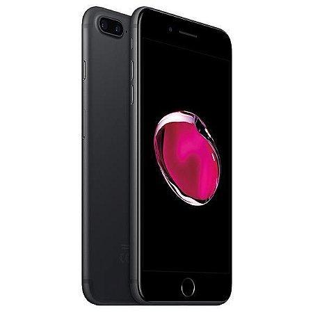 """Apple iPhone 7 Plus  A1784 32GB Tela Retina 5.5"""" 12MP/7.0MP iOS 10 - Preto Mate"""