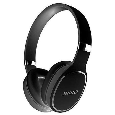 Fone de Ouvido Sem Fio Aiwa AW2 Pro com Bluetooth/Microfone - Preto