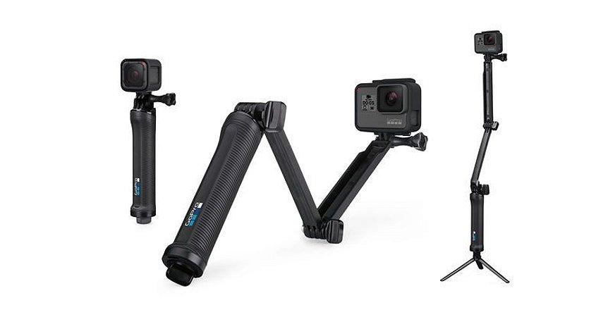 Suporte para Câmera GoPro - 3-Way - Preto