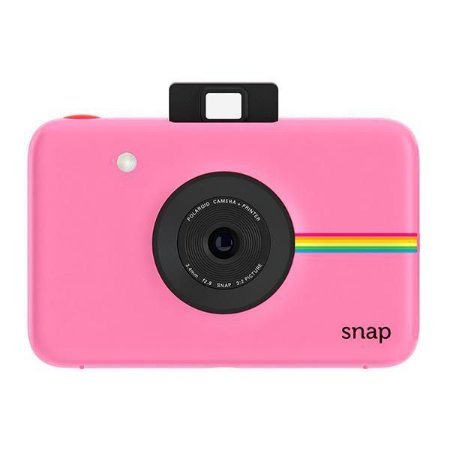 """Câmera Instantânea Polaroid Snap POLSP01BP 10MP Imagem de 2x3"""" - Rosa Claro"""