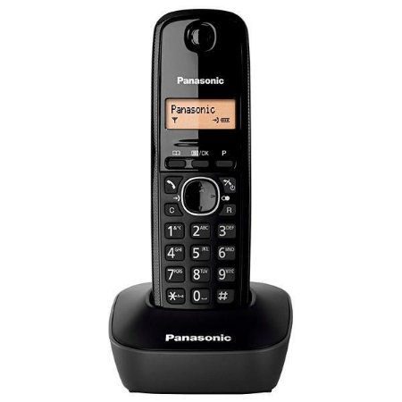 Telefone Sem Fio Panasonic KX-TG1611 com Identificador de Chamadas - Preto