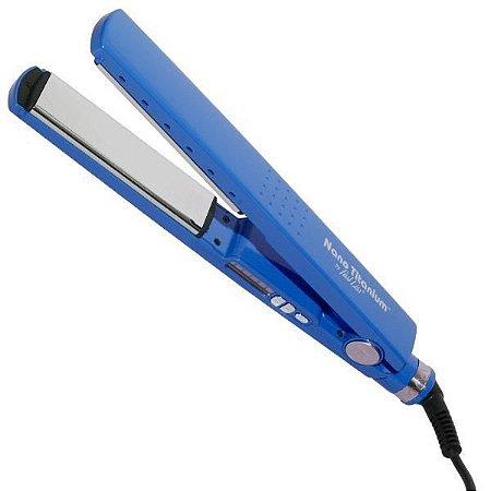Chapinha para Cabelo Fast Liss Nano Titanium CP-300 230°C Bivolt - Azul