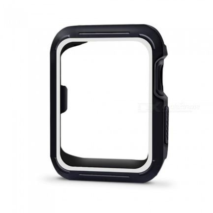 Bumper para Apple Watch - Preto e Branco