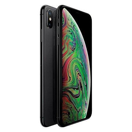 """Apple iPhone XS A1920 64GB Tela Super Retina OLED 5.8"""" 12MP/7MP iOS - Cinza Espacial"""