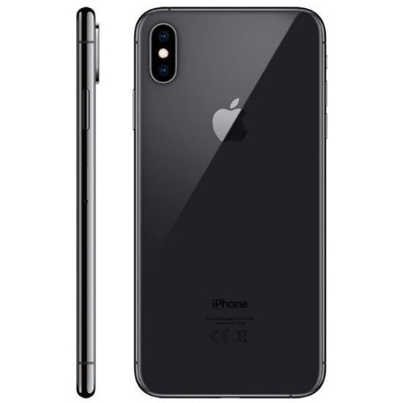 "Apple iPhone Xs Max A1921 64GB Super Retina OLED de 6.5"" 12MP/7MP iOS - Cinza Espacial"
