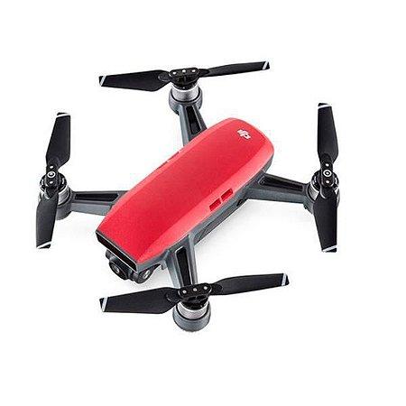 Drone Dji Spark Fly More Combo HD de 12MP  - Vermelho
