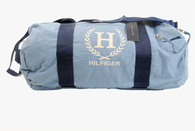 23d6337f7 Bolsa Sacola Sport Tommy Hilfiger - Azul - ED Multimarcas ...