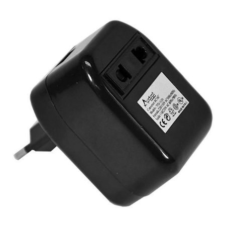 Transformador de Voltagem Audisat TD-120 110/220V - Preto