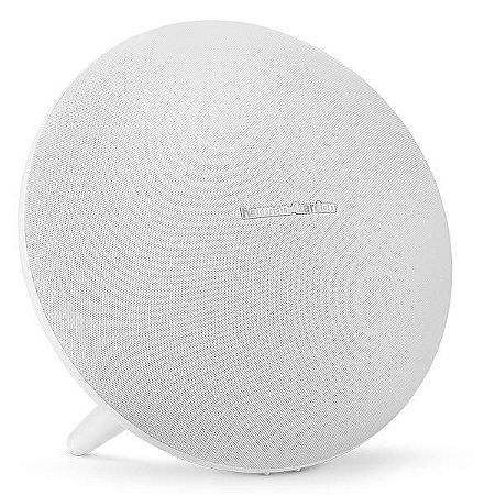 Speaker Harman Kardon Onyx Studio 4 60W com Bluetooth/Auxiliar Bateria 3.000 mAh - Branco