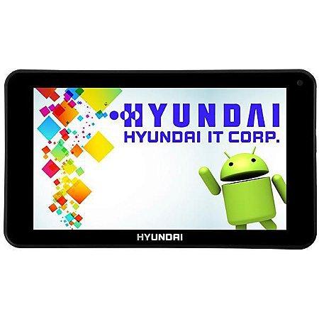 """ablet Hyundai Maestro Tab HDT-7433H+ 8GB Tela 7.0"""" 2MP/VGA OS 7.1.2 - Preto"""