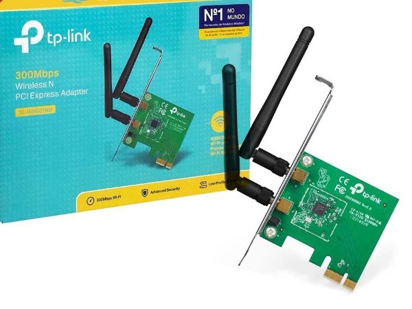 Adaptador Wireless Pci Express Tp-link Tl-wn781nd 150mbps Nf