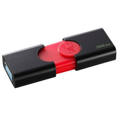Pendrive de 32GB Kingston DataTraveler 106 DT106/32GB - Preto