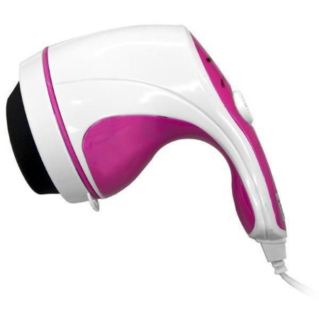 Massageador Corporal Mega Star Magic FM-A6 220V – Branco/Rosa